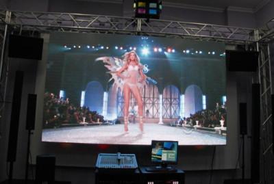 Шоу на светодиодном экране