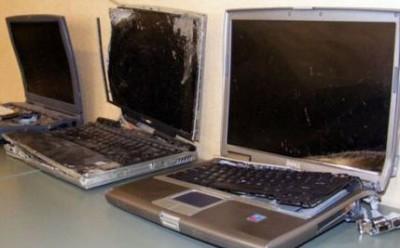 Сгорели компьютеры