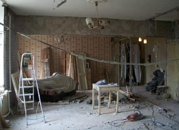 Демонтаж в квартире своими руками 596