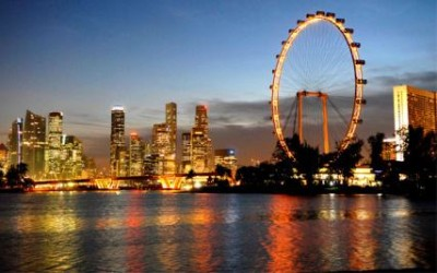 Аттракцион в Сингапуре