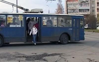 Остановка троллейбуса