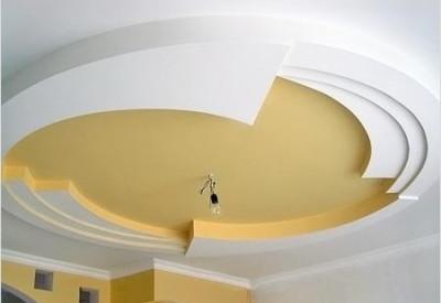 Потолок гипсокартонный