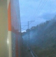 Задымление в поезде