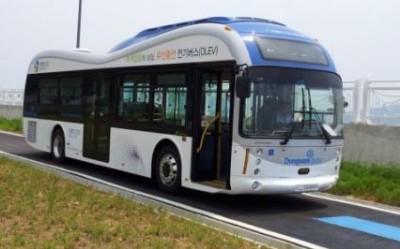 Корейский электроавтобус