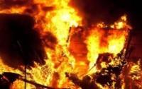 Пожар под Челябинском