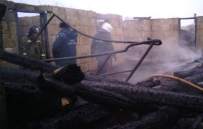 Пожар в Аргаяшском районе