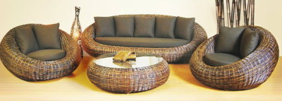 Дачная мебель из искусственного ротанга