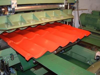 Производство металлочерепицы Grand Line