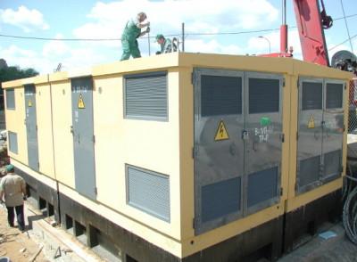 перевозка и монтаж трансформаторной подстанции