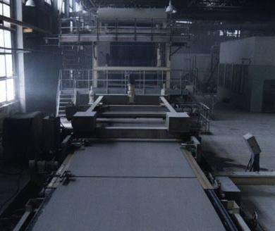 Производство гипсоволокна