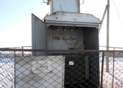 Разграбленный трансформатор