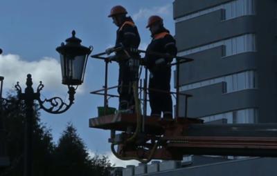 Обслуживание газовых фонарей