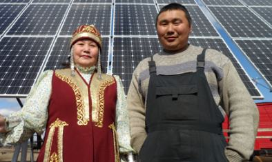 Солнечные электростанции в Якутии