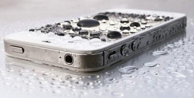 попадание влаги в iPhone