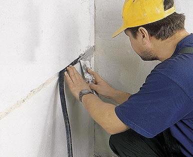 Скрытая прокладка кабеля