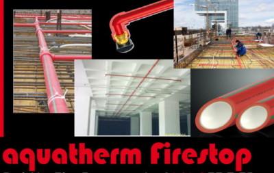 Система пожаротушения Aquatherm Firestop
