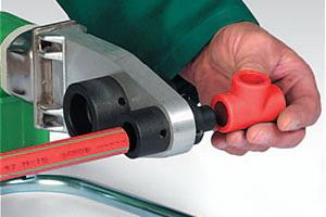 Сварка элементов системы пожаротушения Aquatherm Firestop