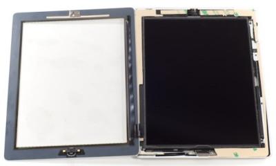 Установка стекла на планшет