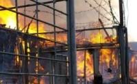 Пожар в колонии