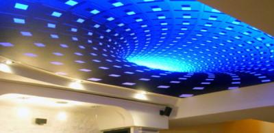 Натяжные 3d потолки