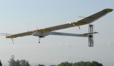 Solar Impulse в полете