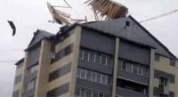 Ураган снес крышу