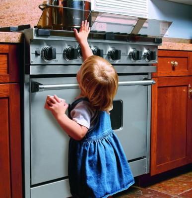 Плита с защитой от детей