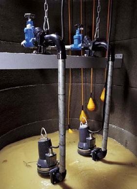 Канализационные установки от компании «Grundfos»