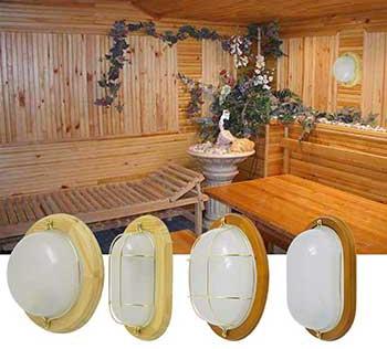 Светильники для бани и саун