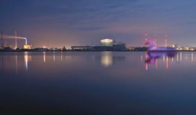 Энергетическая утка в водах Копенгагена