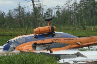 Крушение Ми-2