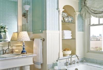 Классический стиль в ванной комнате
