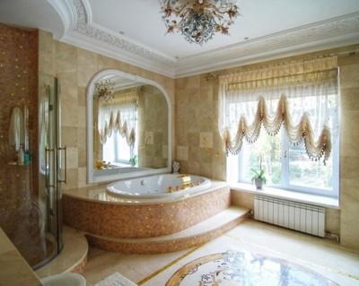 Классический стиль в дизайне ванной