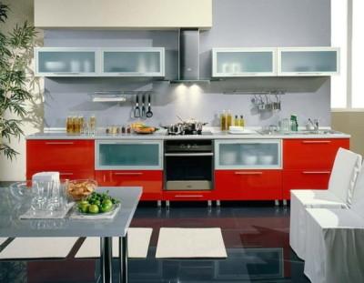 Кухня в стиле hi-tech