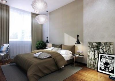 Подвесные светильники для спальни