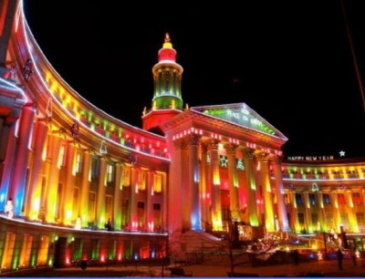 RGB светодиодные прожекторы