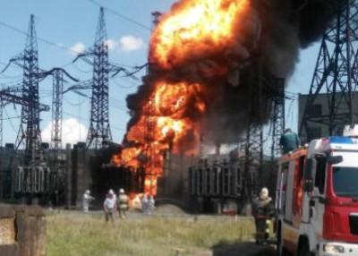 Пожар на Алюминиевой