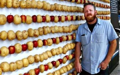 Яблочно-картофельная зарядка