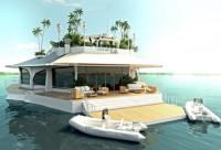 Солнечный плавучий курорт