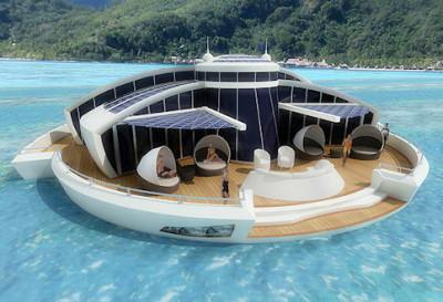 отель на солнечных батареях