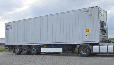 Перевозка холодильных контейнеров