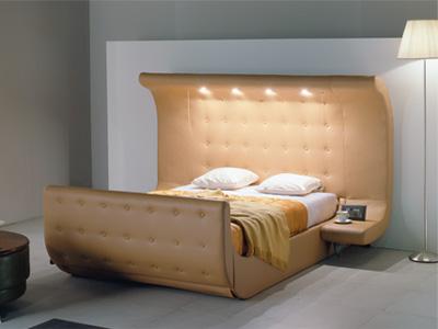 Кожаные диваны с подсветкой