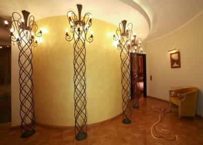 кованные светильники