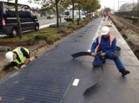 Строительство солнечной дорожки
