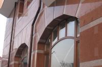 облицовка фасадов зданий керамогранитом