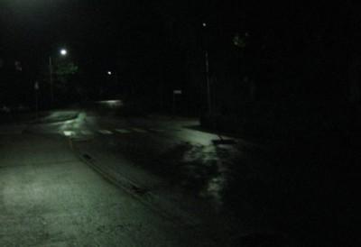 Темная улица