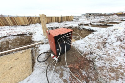Прогрев бетона с помощью трансформаторов