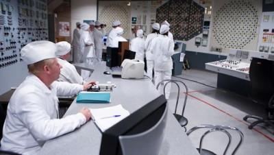 зал управления реактором