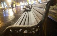 Теплая скамейка