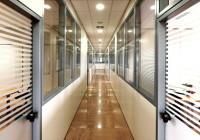 Офисные перегородки на алюминиевых каркасах